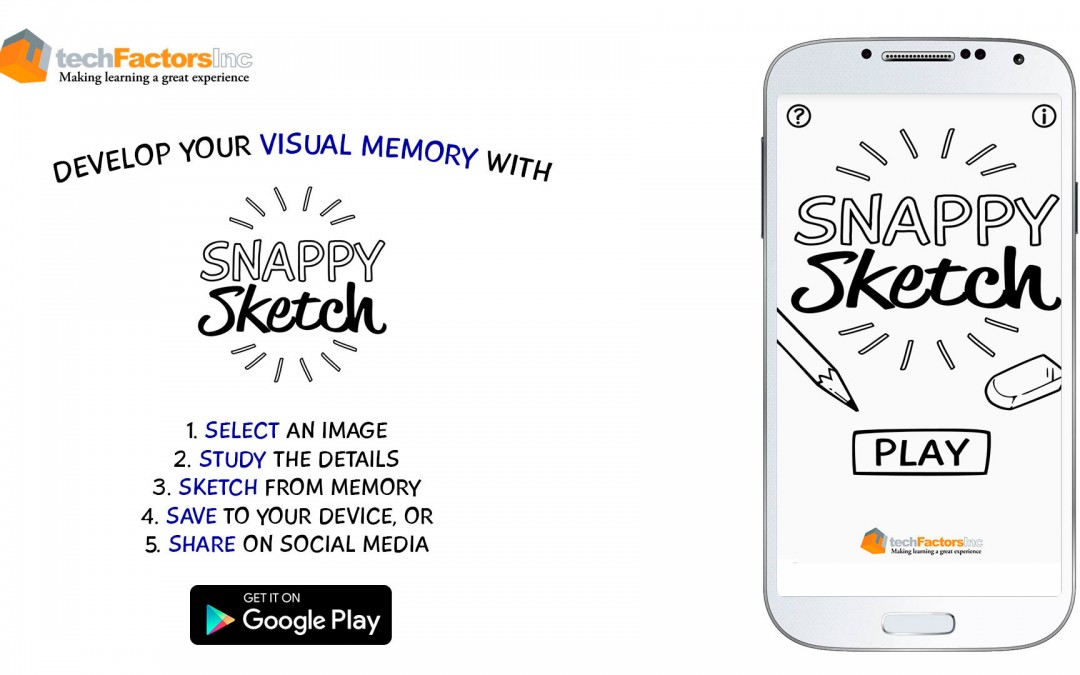 Snappy Sketch – Visual Memory Training App