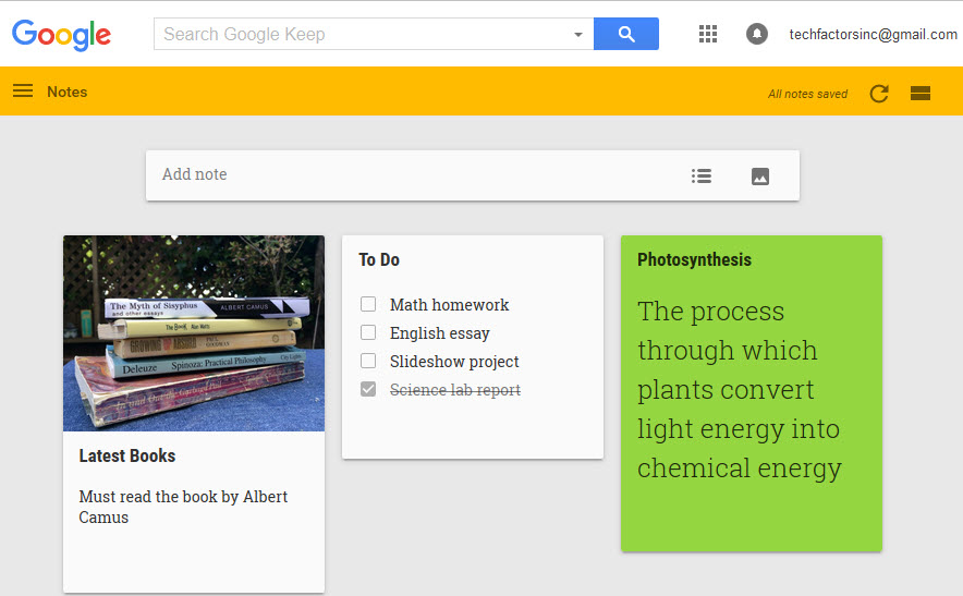 How to use Google Keep for note-taking